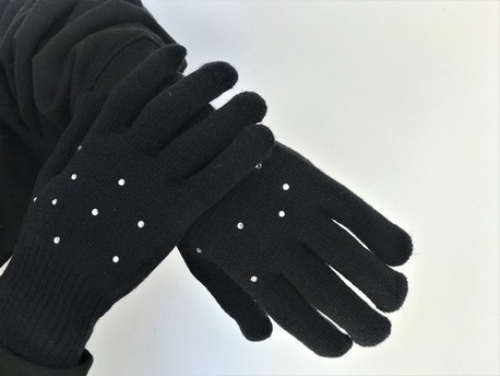 Black gloves with jets (1)
