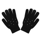 Black gloves with jets (2)