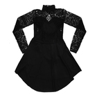Black dress with lace (2)